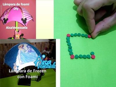Que hacer con los retazos de foami Circulos de foami Tips con foami | AisaVenezuela