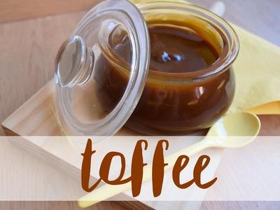 Salsa toffee o crema de caramelo| Receta fácil y rápida | THE CREATIVE RAIN