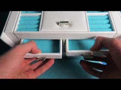 Songmics Caja Joyero Caja para joyerías Organizador JBC212L