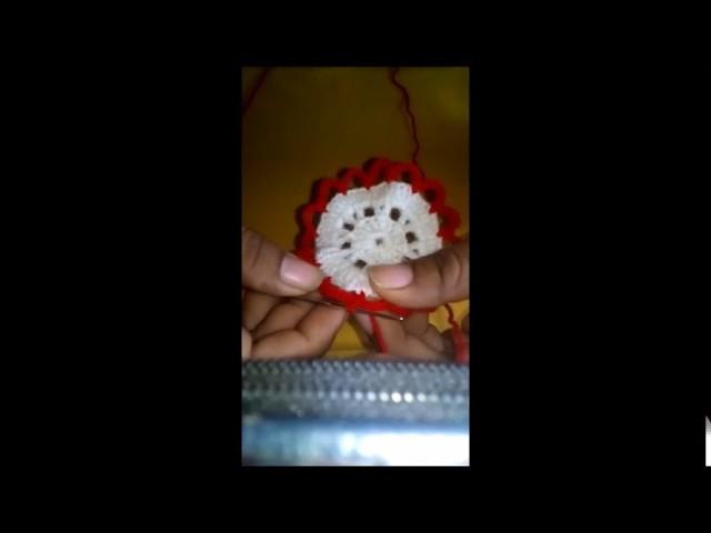 Tapete Navideño a Crochet