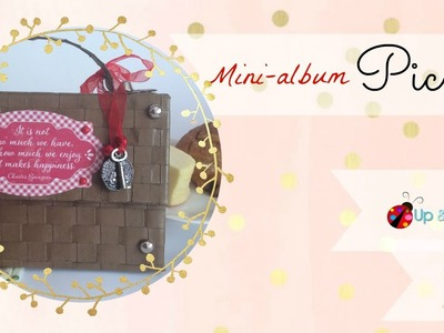 Tutorial Mini Album Scrap Cesta de Picnic