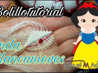 049 Onda Blancanieves Curso Completo Encaje de Bolillos - Tutoriales Raquel M. Adsuar Bolillotuber