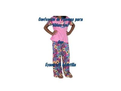 Aprende a confeccionar pijamas para niños(as)