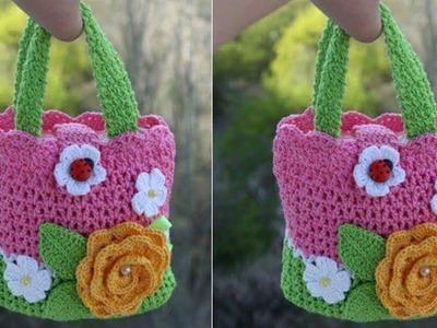 Cartera a Crochet para Niñas