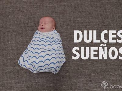 Cómo envolver a un bebé recién nacido paso a paso