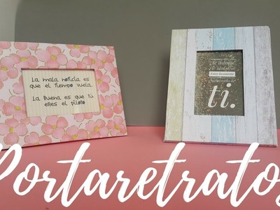 Como hacer un portarretrato de carton fácil y bonito | Wonder & Craft