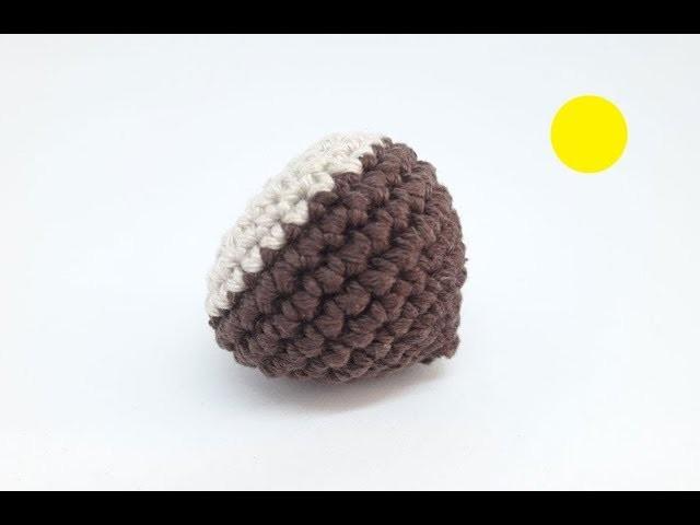 Cómo hacer una castaña a crochet - Anna Jaune Knitting