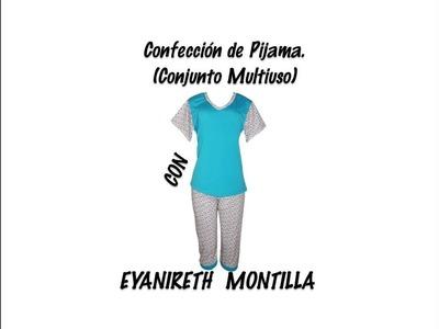 Confección de Pijama  Conjunto multiuso