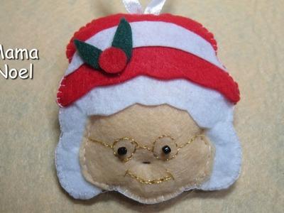 DIY - Adornos de Navidad. Mama Noel DIY - Christmas ornaments. Mama Noel