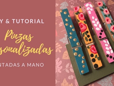 DIY Pinzas de Madera Pintadas | Craft Fair Ideas