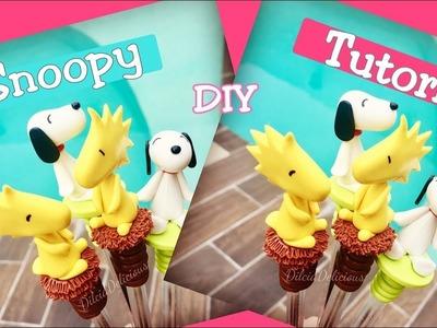 DIY Snoopy Tutorial porcelana fría