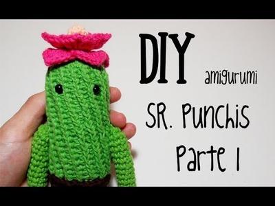 DIY Sr. Punchis Parte 1 amigurumi crochet.ganchillo (tutorial)