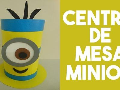 ✂ DIY Tutorial - Centro de Mesa Minion (Centerpiece Minion) ✂