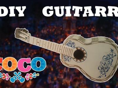 DIY.Tutorial: Haz tu Guitarra de Miguel.Ernesto De la Cruz - Coco (Disney Pixar)