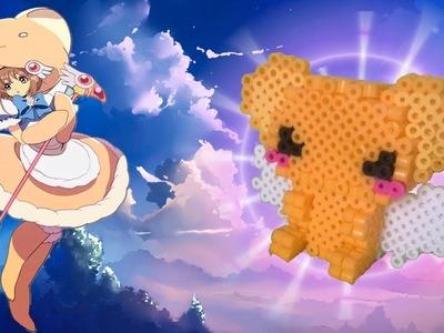 DIY -Tutorial ♥ Kero de Sakura Card Captor ♥ Pearl - Hama Beads 3D (≧ω≦)