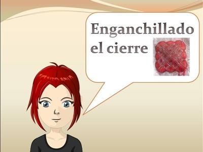 Encaje de bolillos: Como cerrar un pañuelo enganchillando