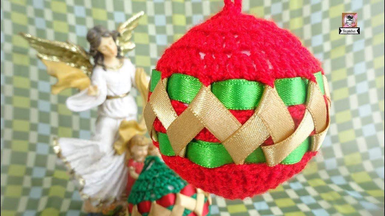 Esferas de Navidad a CROCHET