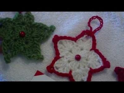 Estrella a crochet, paso a paso para principiantes. crochet starfor beginers
