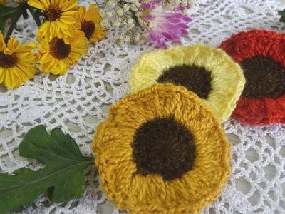 Girasoles a Crochet