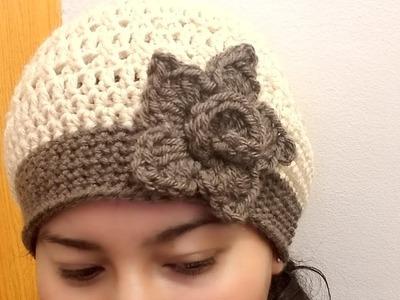 Gorro A Crochet Para Mujer????