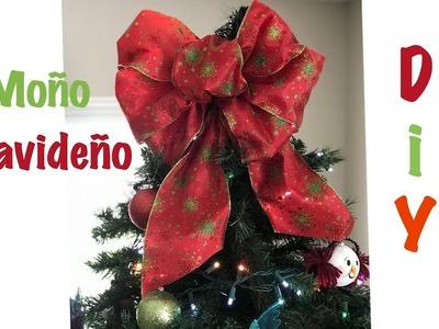 Lazo navideño DIY
