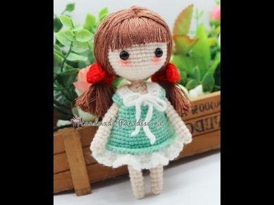 Muñecas amigurumi dolls de crochet tejidas a mano con ganchillo