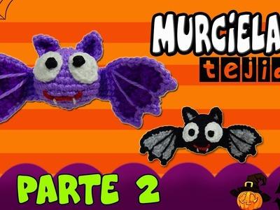 Murcielago amigurumi tejido a crochet - Especial Halloween  | parte 2.2