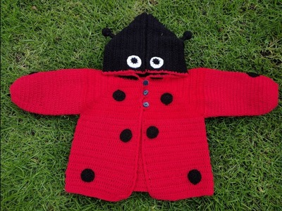 Suéter de Mariquita tejido a crochet