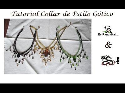 Tutorial Collar de Estilo Gótico Es.PandaHall.com