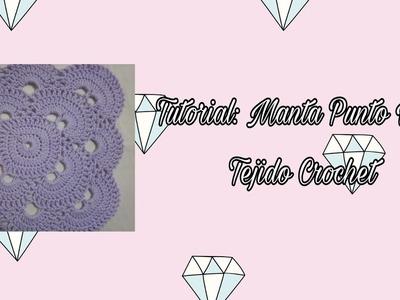 TUTORIAL: MANTA PUNTO VIRUS - TEJIDO CROCHET (COMPLETO)