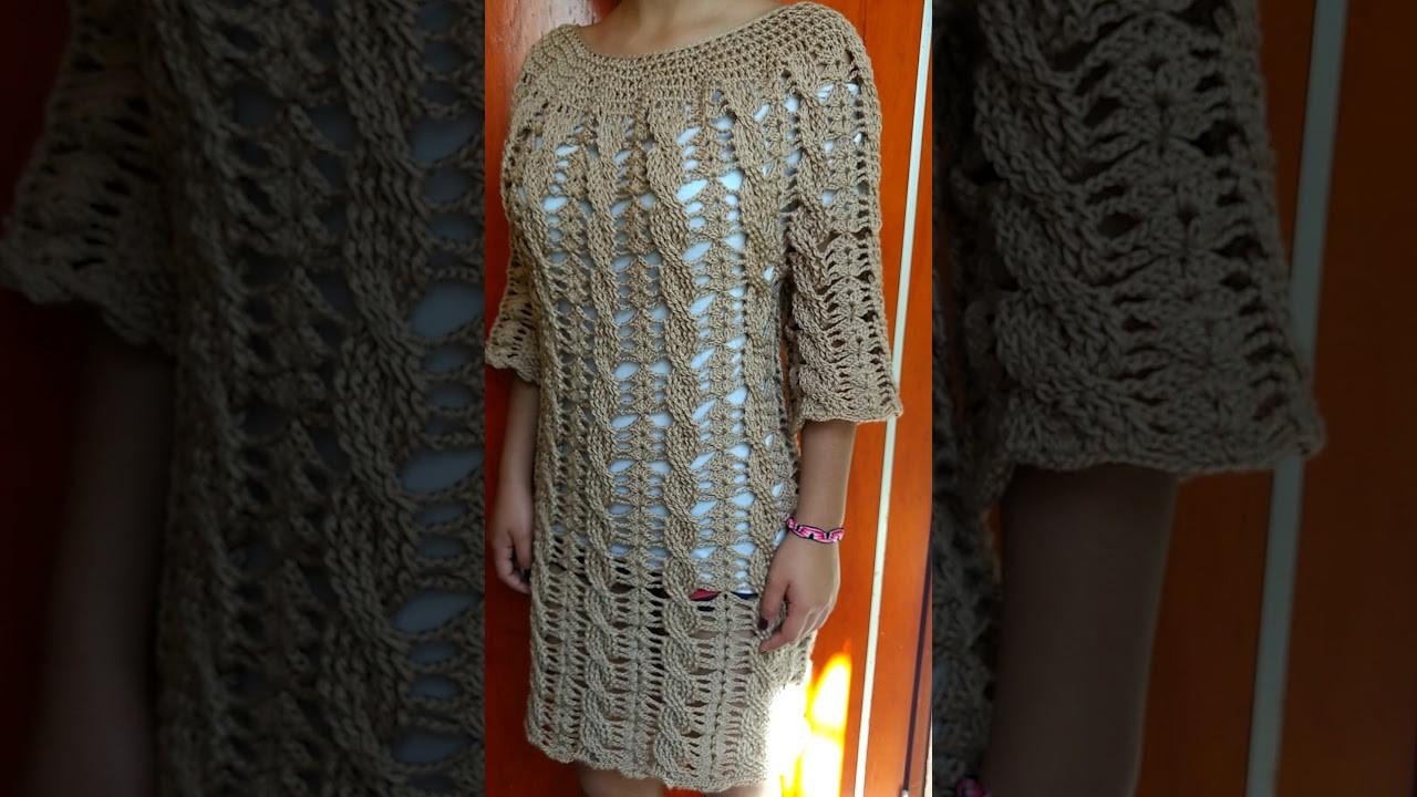 Vestido o blusa a crochet próximo proyecto ????????