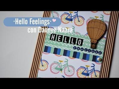 Album Scrapbook de Sentimientos ♥ HELLO FEELINGS ♥ Colab con DANNYE NAARA ♥ Cap 1 ✄ Dulce Scrap