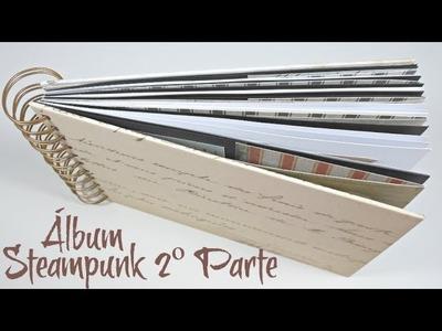 Álbum Steampunk #2 | Estructura y anillado