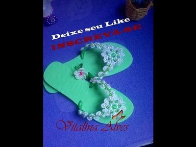 Aprendendo a fazer Flor de PÉROLA MAX FLOR 2 Parte 1 com Vitalina Alves