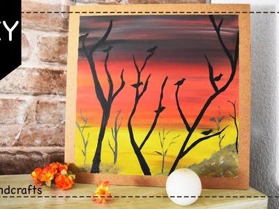 Cuadro decorativo DIY para Halloween - Dia de Muertos - DecoAndCrafts
