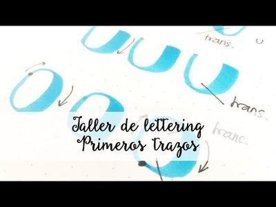 Curso de lettering para principiantes (español) Clase 2 - Primeros trazos | SCRAP & LETTERING