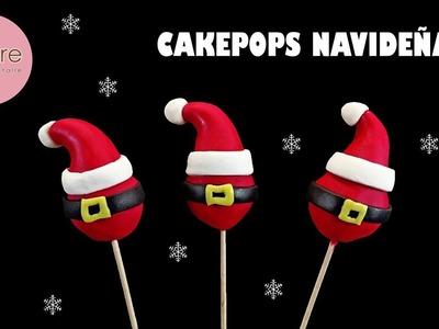 ???? DECORACIÓN DE CAKEPOPS PARA NAVIDAD, Christmas cakepops