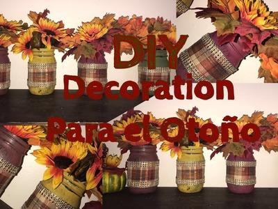 DIY decoracion para el Otoño