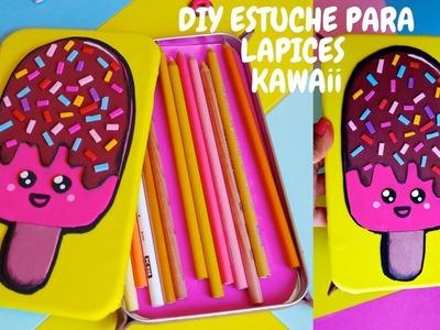 *DIY KAWAii* facil estuche para lapices de foamy.goma eva