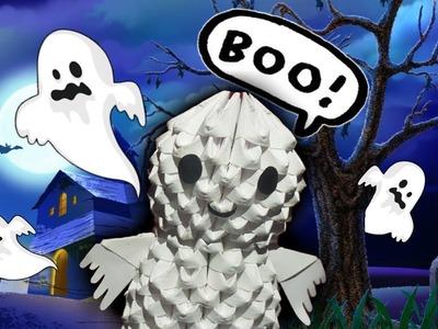 FANTASMA MINI En Origami 3D *Halloween*.Leyenda Origami