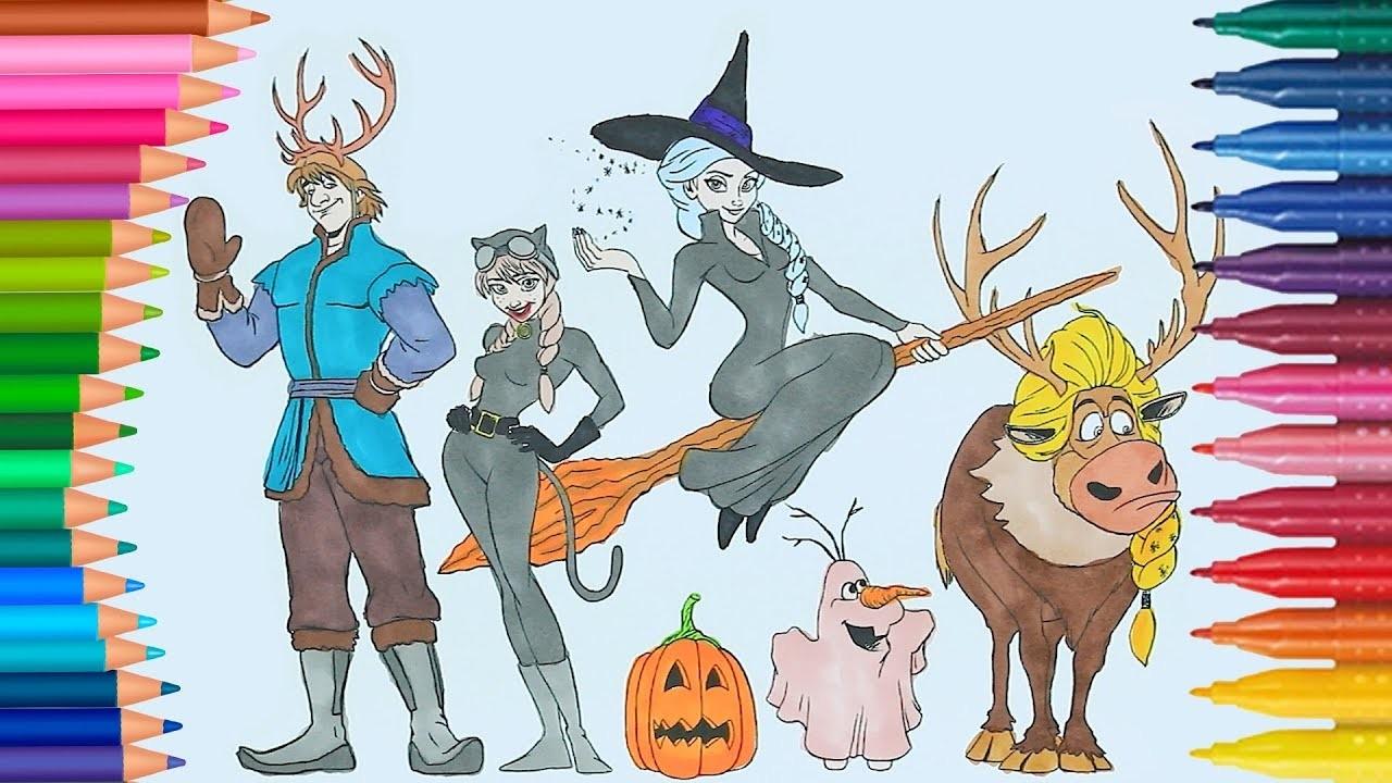 Frozen Reina Elsa Y Princesa Anna Costume Para Halloween