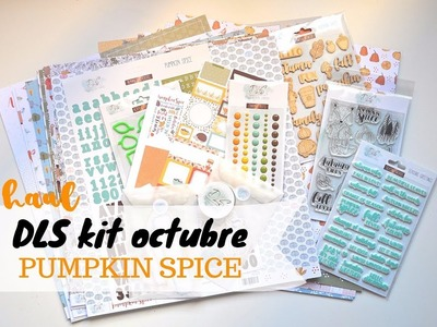 Haul scrapbooking | Kit octubre Document Life Stories: Pumpkin Spice | Scrapeando con Rocío