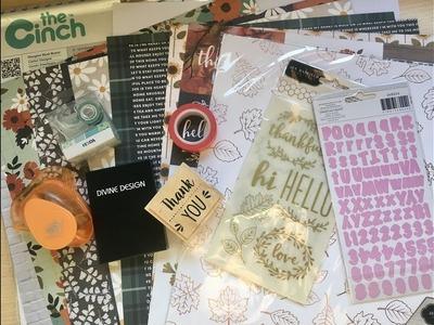 Haul scrapbooking, lettering y papeleria creativa. Octubre 2017