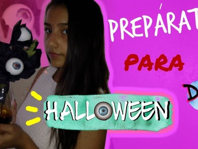 Haz una DECORACIÓN super CREEPY para HALLOWEEN- DIY | Mariela