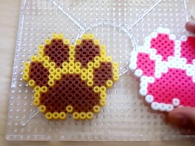 Huella de perro Hama Beads