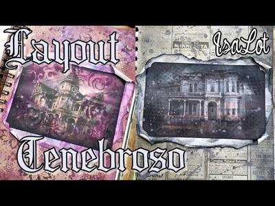 Layouts vintage, Mansiones abandonadas | Scrapbooking