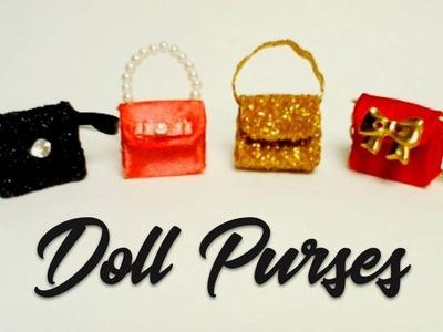 Miniature Purses. Bags. Bolsinhas p. Barbie. Doll Tutorial
