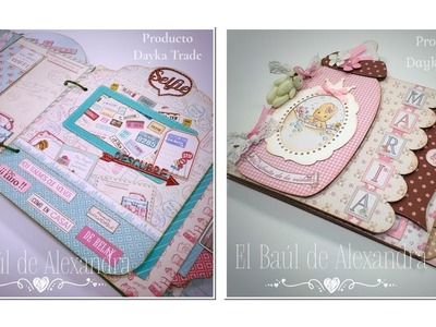 Nuevos kits de scrapbooking Dayka Trade