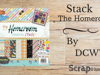 Papel Scrapbook DCWV The Homeroom