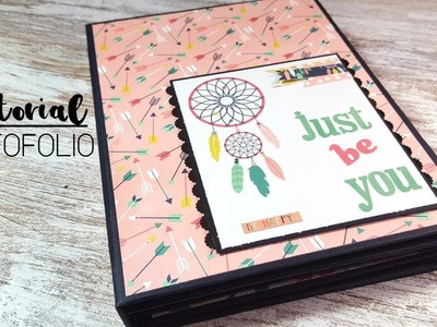 ➡️ PHOTOFOLIO scrapbooking | tutorial????✏️✂️